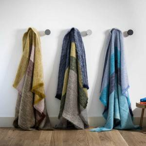 Mohair throws: throw Mohair Epices