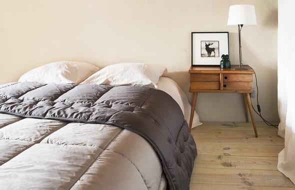 edredon californie brun de vian tiran. Black Bedroom Furniture Sets. Home Design Ideas