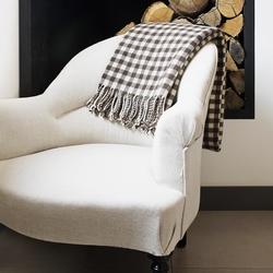 plaid doux chaud alpaga mohair m rinos cachemire brun de vian tiran brun de vian tiran. Black Bedroom Furniture Sets. Home Design Ideas