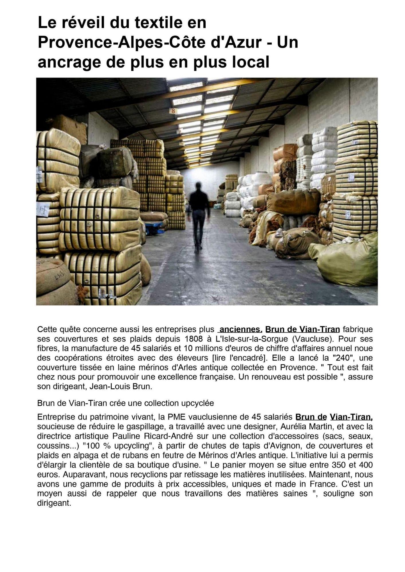 L'usine nouvelle article